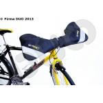 Osłona dłoni rowerzysty - mufka rowerowa